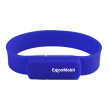 bracelet usb memory sticks, Waterproof Lady Silicone Flash Drive USB Bracelet 8GB cheap, Portable Silicone USB Bracelet