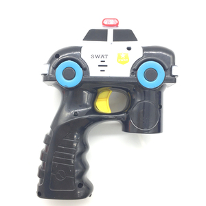 Real Color Swat Bubble Gun Toy With Small Bubble Water