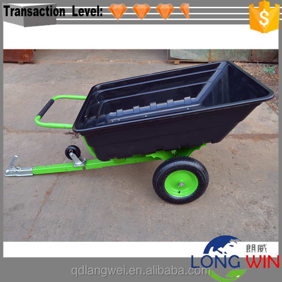 Utility Off Road Small Dump Trailer for ATV