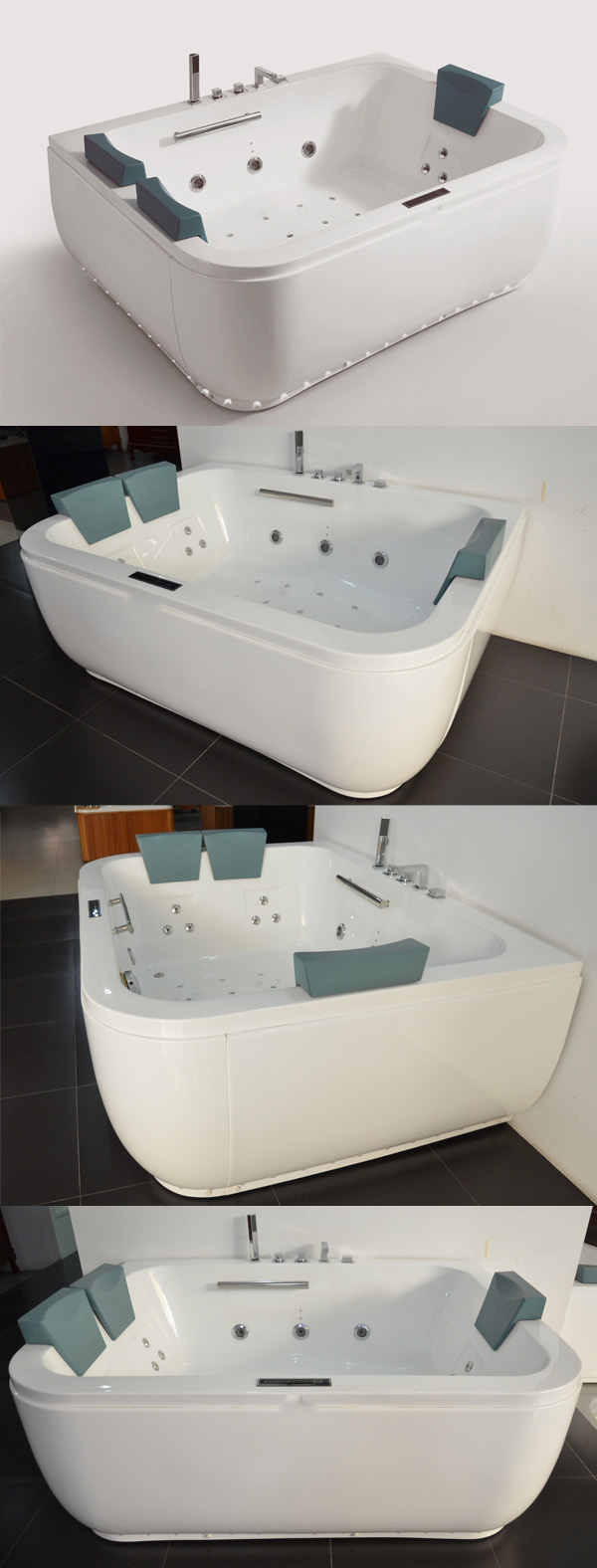 Hs-b1831t With Beautiful Light Rectangular Huge Bathtub Sale In ...