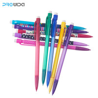 Free Sample Plastic 2mm Black Lead Mechanical Pencil with Eraser