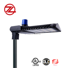Factory direct sell 300 watts led parking lot light DLC UL Listed led shoe box light