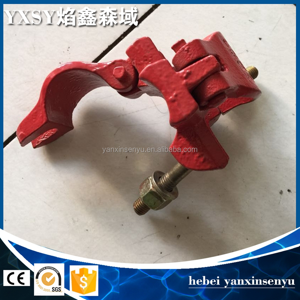 Scaffolding Couplers clamps steel pipe clip fixing clamp