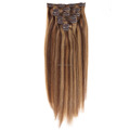 Triple Weft Full Cuticle 8a Grade Clip In Hair Extensions For Black Women