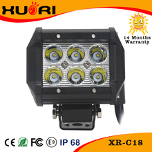 18W LED driving light bar for Off-road Vehicle, Water-resistant, waterproof 18w led lightbar
