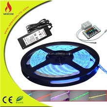 Battery Powered 12V 24V LED Strip light Waterproof 5M