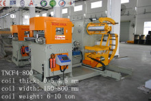 sheet metal straightening machine/ straightener/leveler