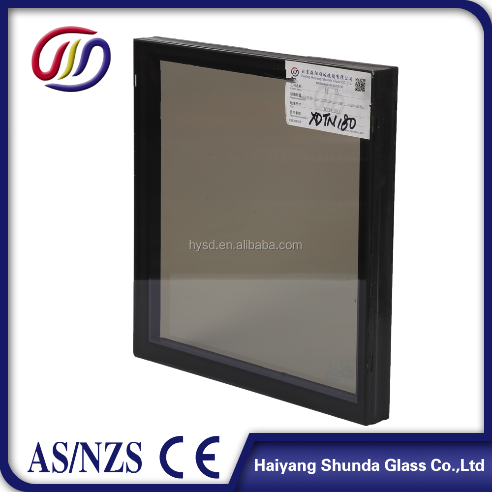 Beijing Haiyangshunda blue green bronze Hollow Glass/Insulated Glass Panels