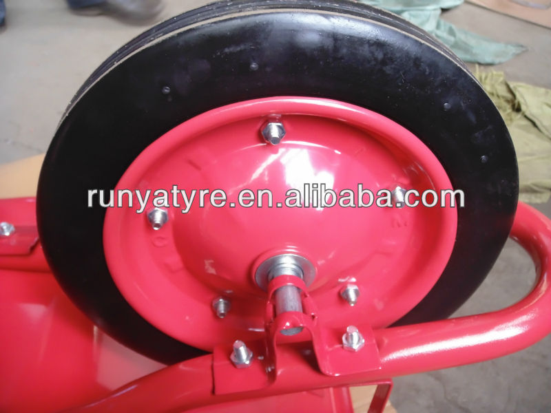 PU wheelbarrowwheel 4.00-8