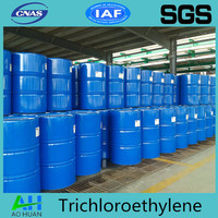 Industrial grade Trichloroethylene/TCE used as extraction agent for oil and fats