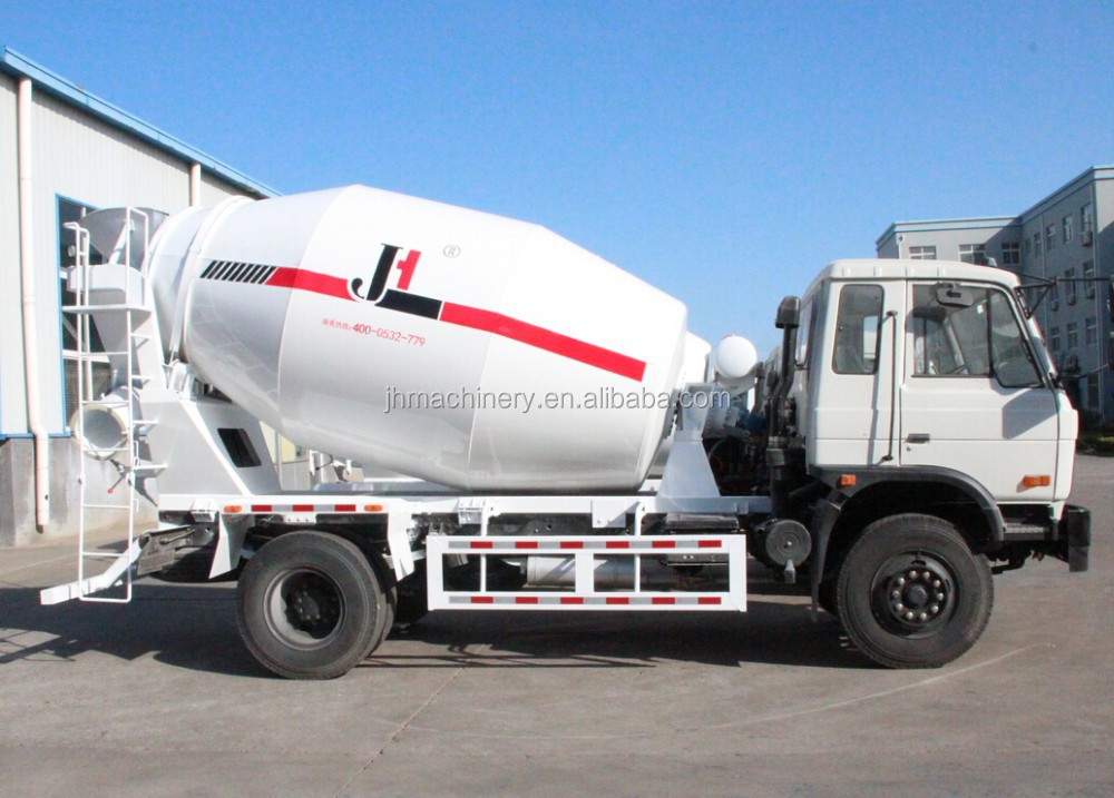 mini concrete mixer truck small concrete truck mixer concrete mixing truck with Dongfeng chassis