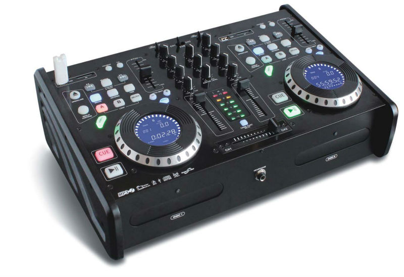CDM-500CTUSB CD/USB/SD/MP3 Audio DJ Mixer Player