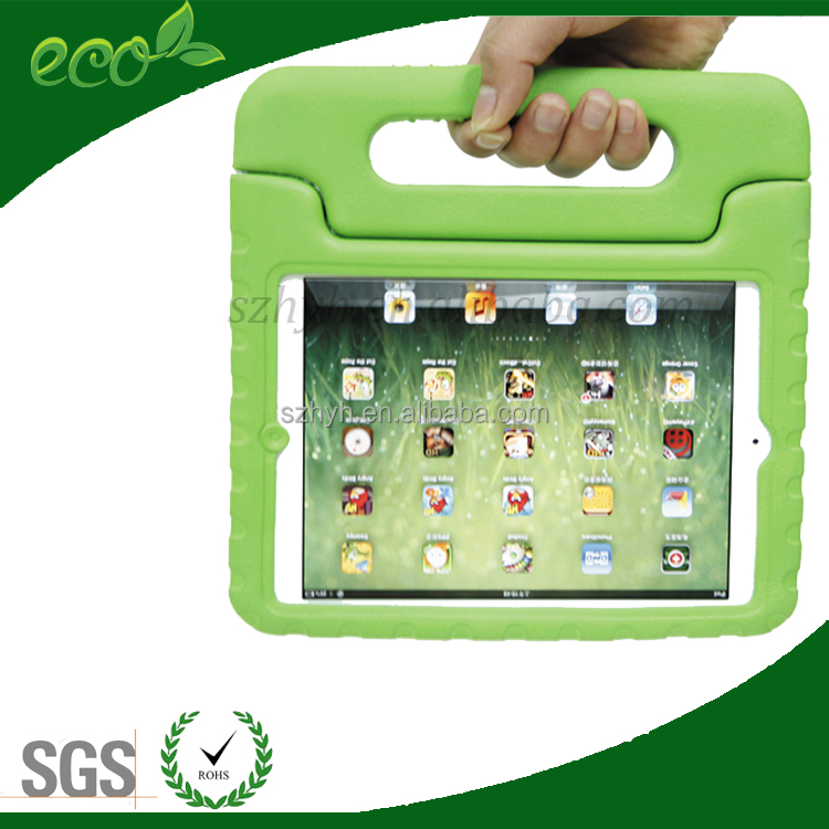 Shockproof EVA foam Kids Tablet PC Cover Case for Ipad mini for kids