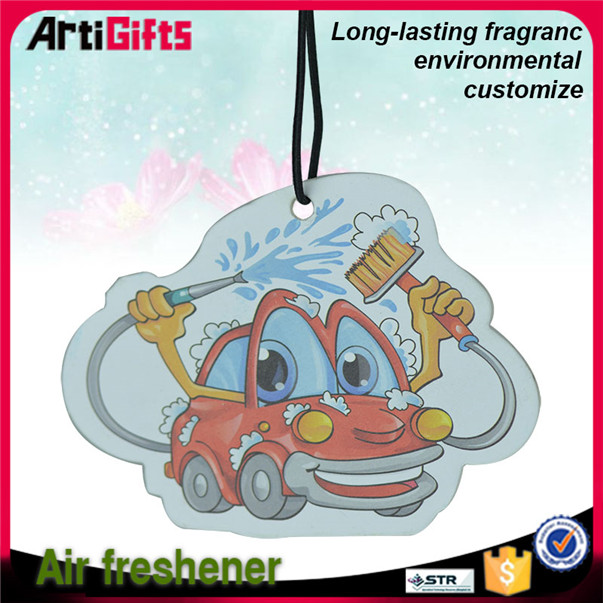 High performance absorbent cheap custom paper car air freshener for car