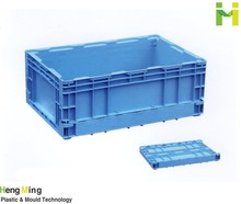 Plastic transport box logistic turnover crates