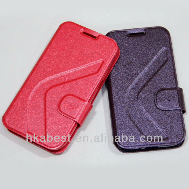 For sumsang S4 i9500 leather case with tpu back cover,leather cover for samsung galaxy S4 9500, PU pouch