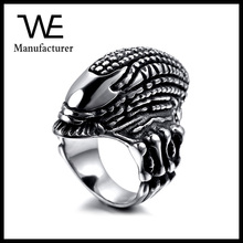 Hot Sell High Quality Stainless Steel Retro Designs Monster Ring