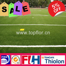Artificial Turf Soccer Pitch With Thiolon Material
