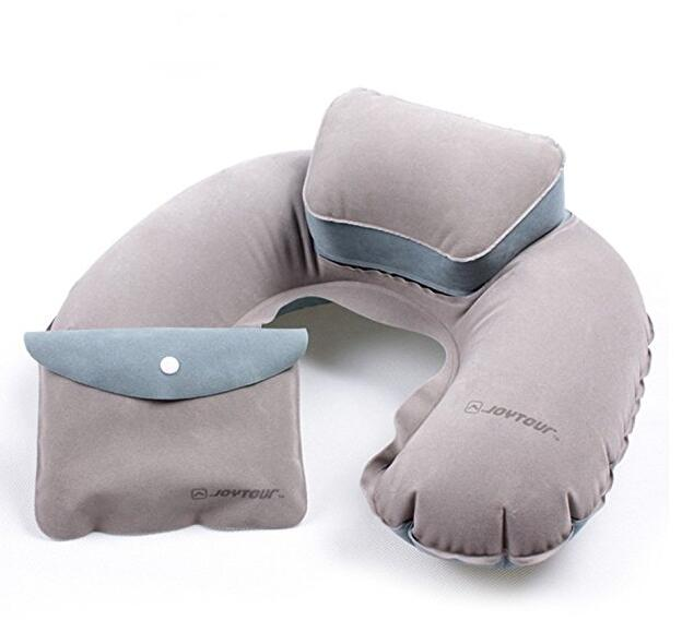 Travel Inflatable Neck Pillow J shape Travel Pillow