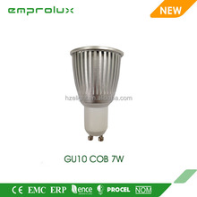hot sale 7W spotlight gu10 china led with price lamp