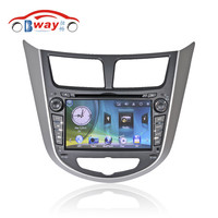 Bway 2 din car video player for Hyundai Verna 2011 car dvd gps 256 MB RAM with car Radio bluetooth,steering wheel