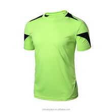 Outdoors Sports Clothing Brand New Arrival 2015 Unisex Running T-Shirts Summer Tops Quick Dry Fit Men Sport T Shirt