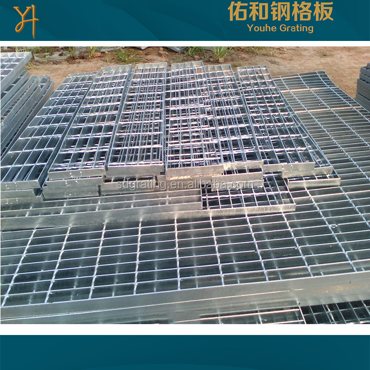 galvanized steel grating cover untreatment steel grating