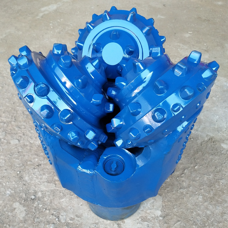 IADC 537 tungsten tricone drill bits for oil water well drilling