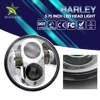 Wholesale CE ROHS Approved Aluminum Housing High Low Beam Super Bright 40W 5.75 Inch Led Motorcycle Headlight