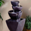 Indoor stone fountains