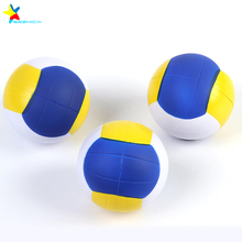 volleyball shaped pu stress balls stress relief toys promotion gift