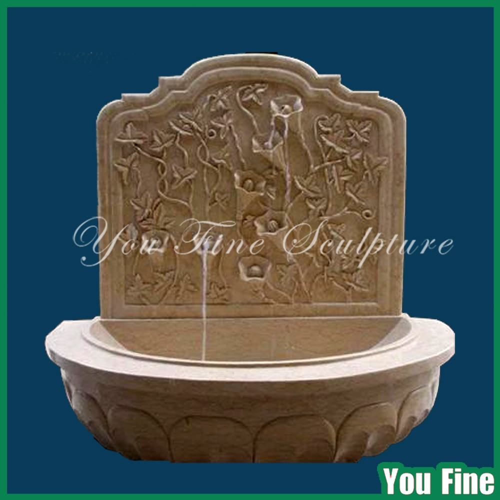 Cheap Garden Natural Stone Wall Mounted Water Fountain