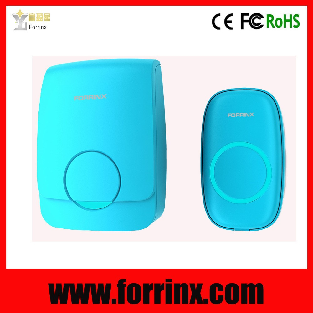 ABS plastic cover doorbell digital coding 52 melodies 300m long range distance doorbell