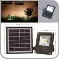 2W Solar Charged LED Spotlight IP65 for Entrance Lawn Yard Landscape Patio Garden Garage Outdoor (JL-4534)