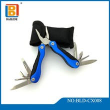 Stainless Steel Multi function Tool 13-in-1 Durable Pocket Knife Tool Set with Plier, Screwdriver Tool And Survival Kit