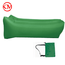 High quality 210T air filled lazy inflatable sofa air bed