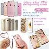 Luxury electroplating soft tpu case for Apple iPhone 6 6s plus for samsung s6 s7 edge phone case