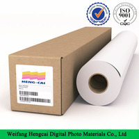 microporous glossy inkjet Polypropylene synthetic Paper with adhesive