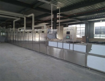 New products conveyor belt microwave drying machine for brine shrimp
