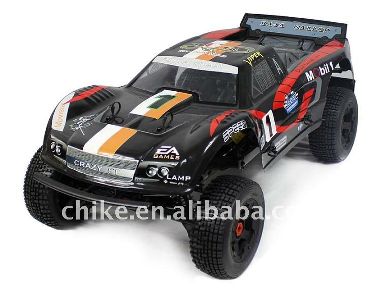 ***Super***26cc 5T RC TRUCK with 2.4G transmitter RTR 5SC Tyres