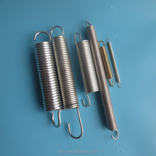 Custom High tension extension springs with long hooks