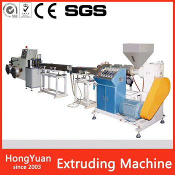 2018 newest hot selling custom stationery PEM-008 PVC Plastic Filament Wire Forming Extruding Machine