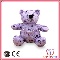 ICTI Factory wholesale customized size DIY cute giant teddy bear for sale