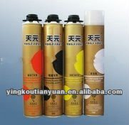 manufacture anti-moisture polyurethane expanding spray pu foam sealant/can factory in China