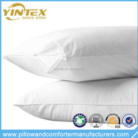 Guangzhou hot sale double duck/goose feather down pillow for bed