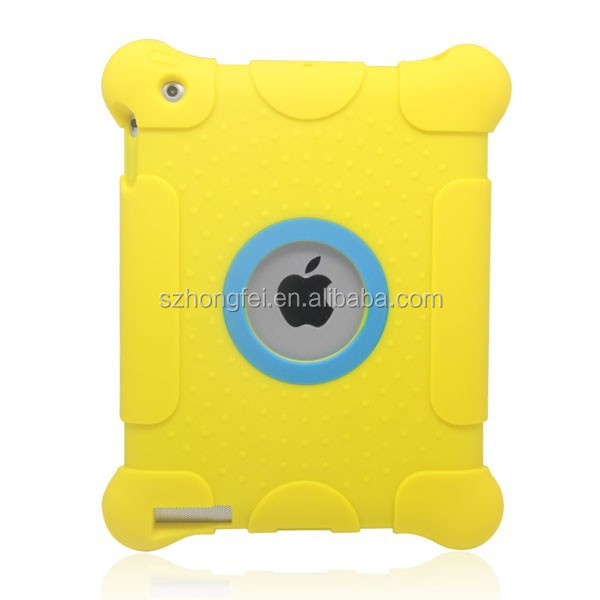 2014 hot selling kids products 10 inch tablet pc silicone case for iPad