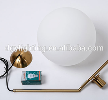 E14 E27 led gold metal bubble glass ball hanging pendant lamp