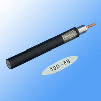 RG series foamed polythylene insulated RF coax cable