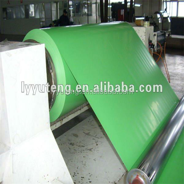 aluminum double side colour painted alu coil / sheet with low price per kg