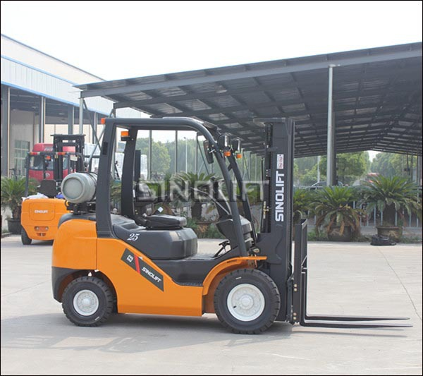 Hot - G Series 2.0-3.5T Gas LPG Dual Fuel Forklift Truck